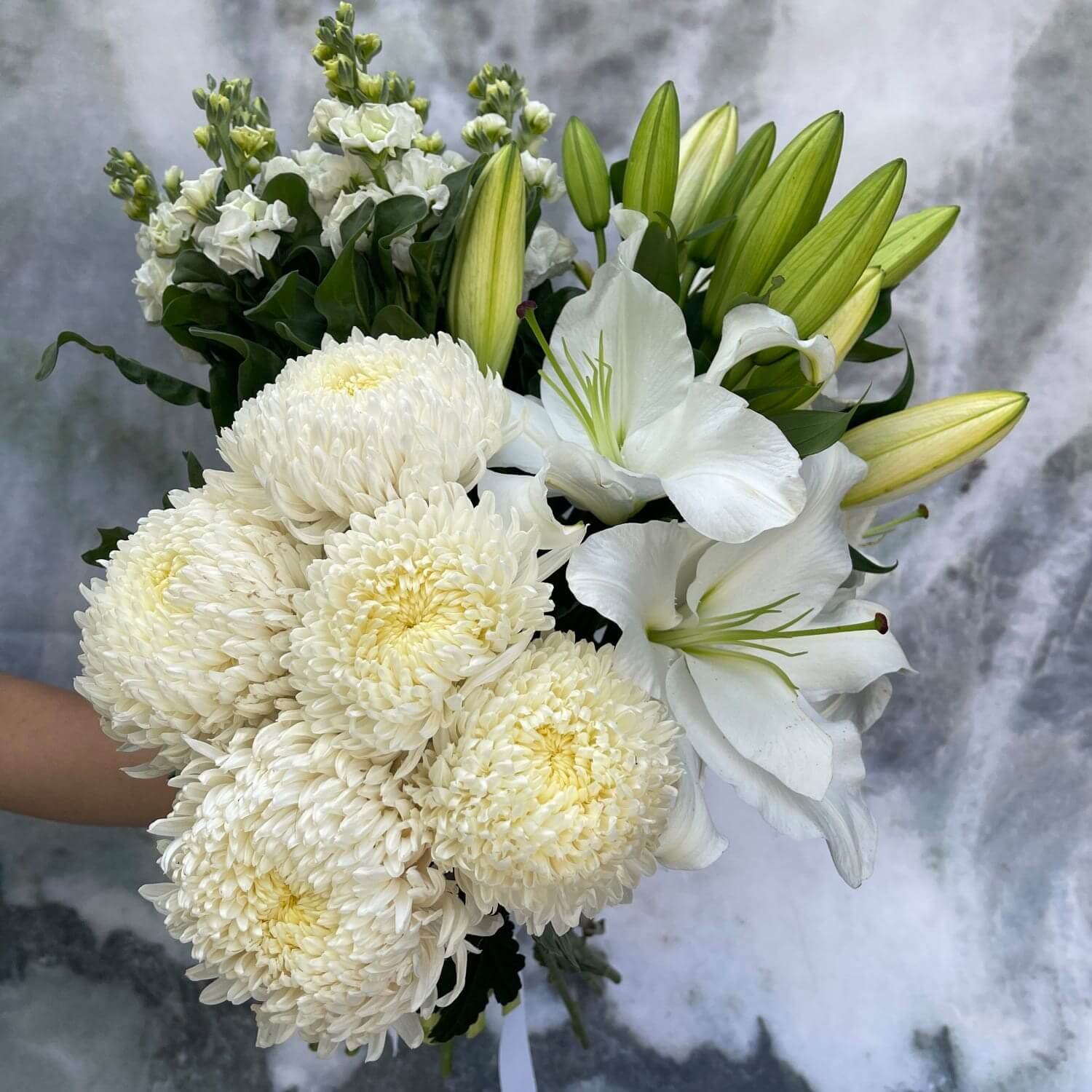 Casablanca Stock Bouquet