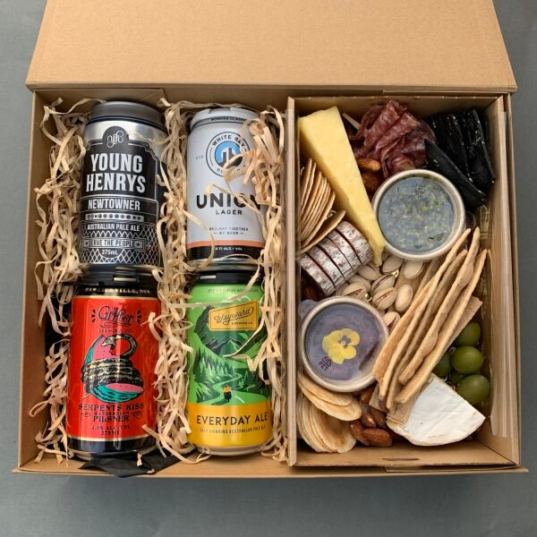 Beer and Bites Box